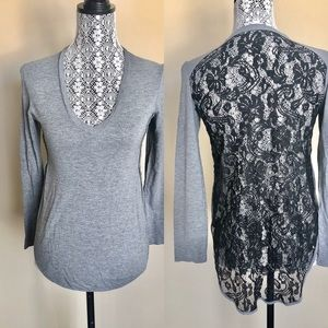 Wilfred Long Sleeve with Lace Back